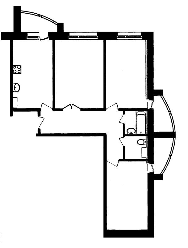 Схема расположения дома на